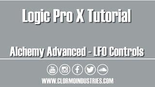 Alchemy LFO Controls (Logic Pro Tutorial)