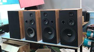 Loa đứng bass 25 giá 1.300k và loa đứng 30. Giá 1.400k./1 đôi. Lh.096.2468.112