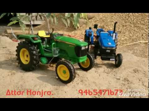 Attar Hanjra Mini tractor 4x4 new holland 3630 latest punjabi songs 2017
