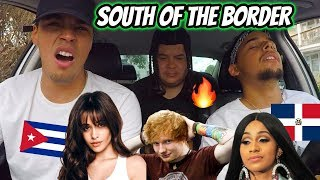 Download Lagu Ed Sheeran - South of the Border feat Camila Cabello Cardi B REACTION REVIEW MP3