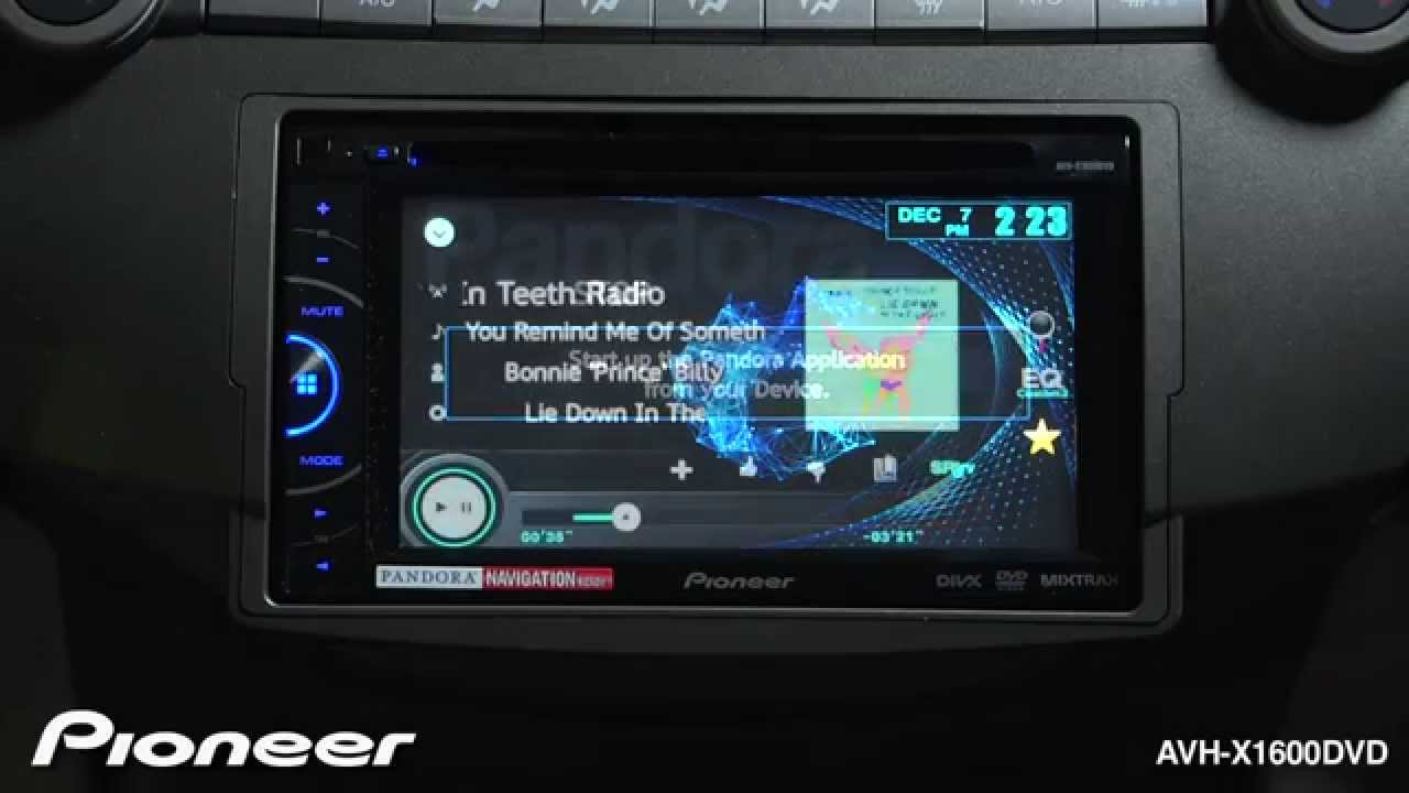 Pioneer Avh X1600dvd Wiring Diagrams P4000dvd Firmware Update How To Listen Pandora Youtube Download