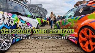 Amirsoy tog' chang'i kompleksida avto-moto festival. Амирсойда авто-мото фестиваль.