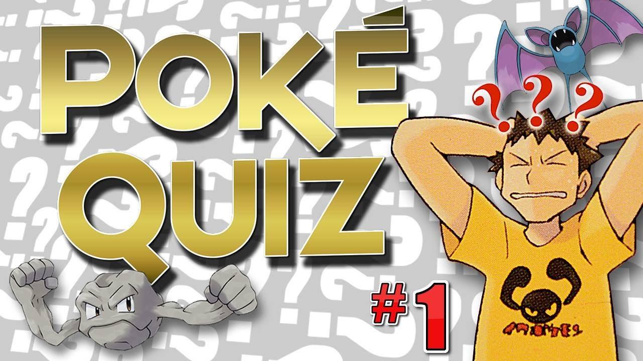 Pokemon Quiz Challenge! (with answers)
