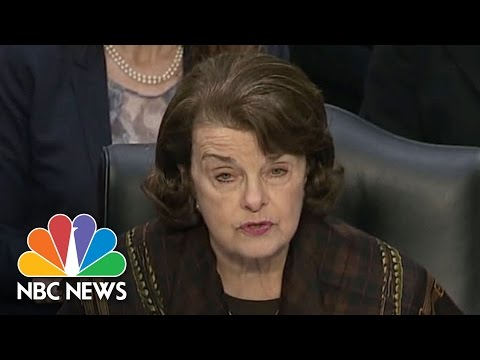 Dianne Feinstein On Why She Opposes Judge Neil Gorsuch's Nomination | NBC News