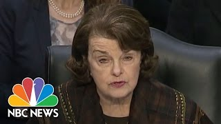 Dianne Feinstein On Why She Opposes Judge Neil Gorsuch's Nomination   NBC News