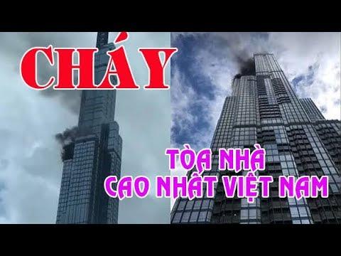 Sài gòn Cháy tòa nhà Landmark 81 cao nhất của Việt Nam-  Vingroup
