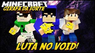 Minecraft: GIRAFA DA SORTE - LUTA NO VOID! #1 (Lucky Block Mod)