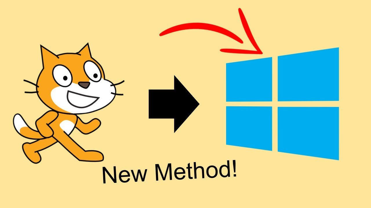 Converting Scratch Projects to EXE! *BEST METHOD 2018*