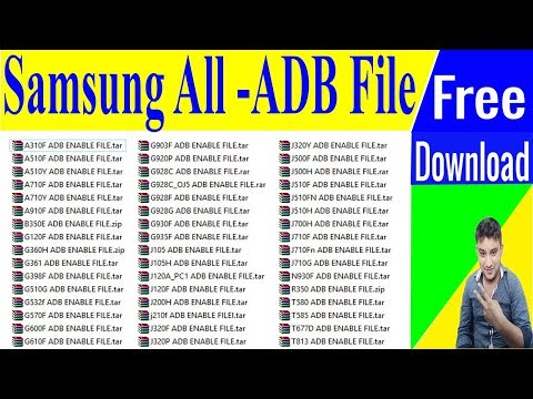 SAMSUNG Frp Tools With All ADB Enable File For FRP Reset