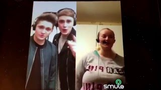 Official Emma Perry Ft Joe & Jake-Your Not Alone (Smule Collaboration)