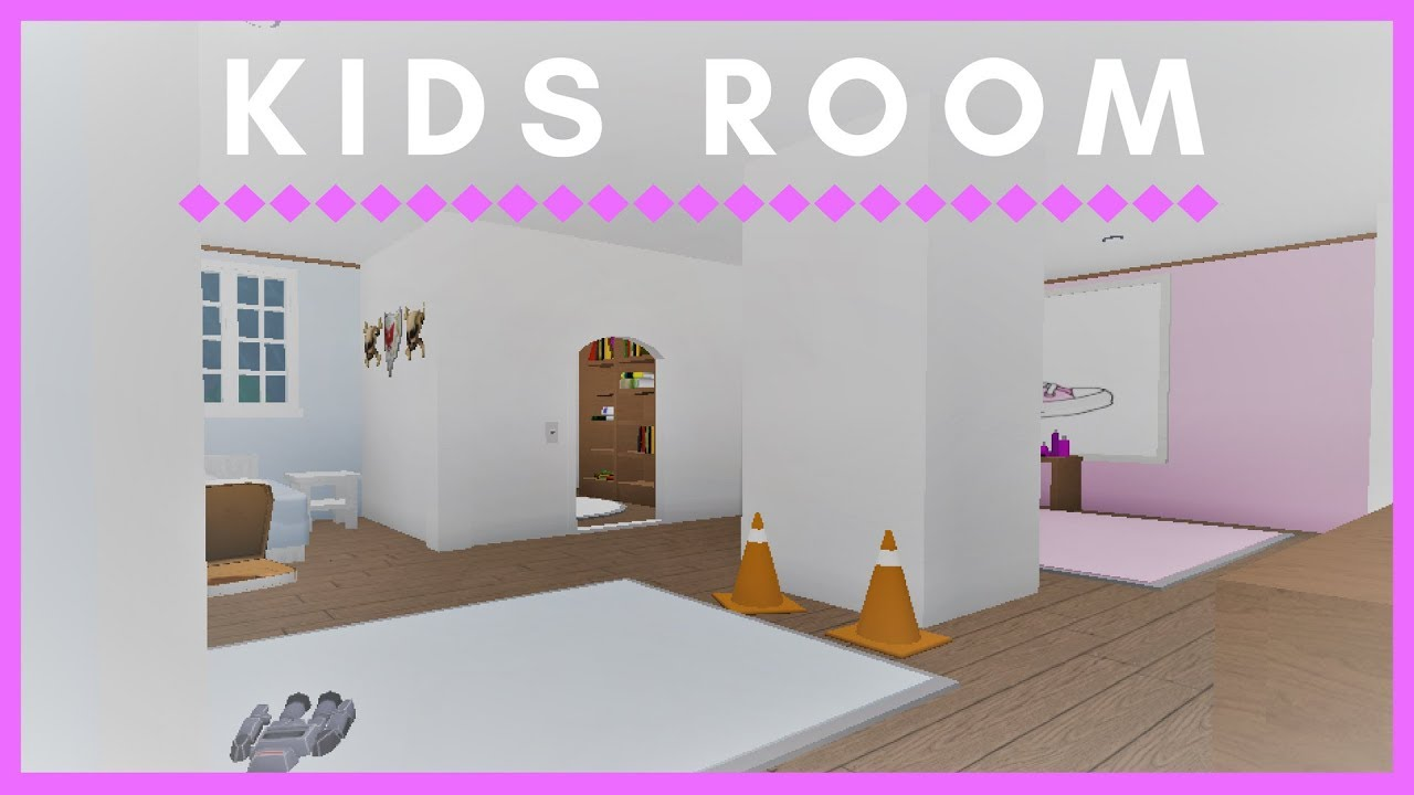 Roblox welcome to bloxburg kid 39 s room youtube for Kitchen designs bloxburg