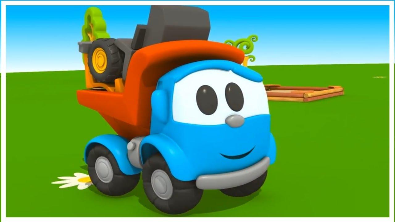 LEO el camión curioso - dibujos y caricaturas infantiles - ¡20 minutos!