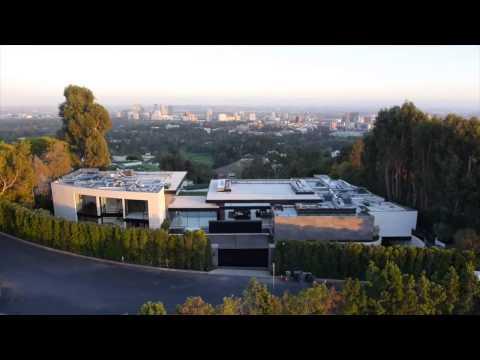 Самый Дорогой дом в Лос Анджелесе с красивым видом на город.