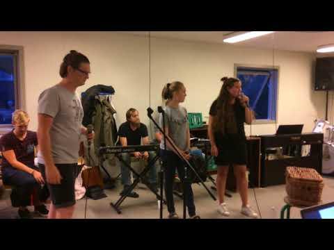 Første orkesterprøve med Skammeren og GNY