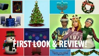 The Sims 4 Holiday Celebration Pack | First Look & Review