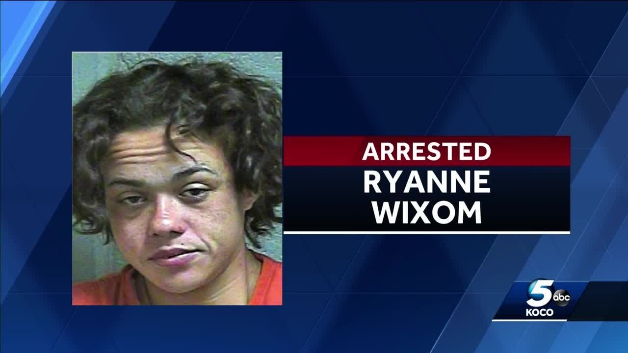 OKLAHOMA CITY, WHITE WOMAN arrested, accused of pulling knife on people who didn't give her mon