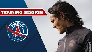 VIDEO: TRAINING SESSION : BREST vs PARIS SAINT-GERMAIN