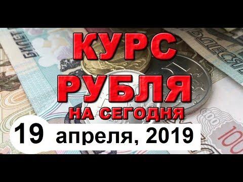 Курс Рубля. Обзор графика (19 апреля 2019 года)