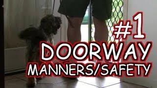 Doorway Safety 1 - Dog Training Tutorial