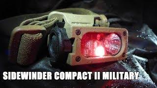 Военный тактический фонарь Sidewinder Compact II Military |  Обзор