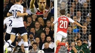 Tottenham vs Arsenal 1 2 All Goals 2015