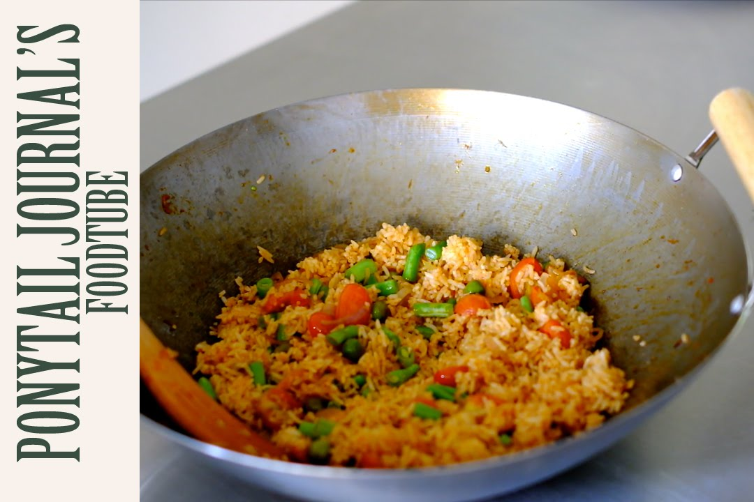 Red Curry Fried Rice Youtube