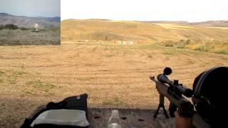 salute self resetting ar500 steel target vs 7 62x39