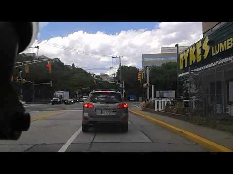 Driving in Weehawken, New Jersey, USA (part 2)