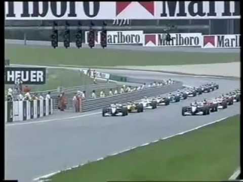 F1 A1 Ring Spielberg McLaren Crash