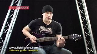 Steve Vai - Juice - Guitar Lesson With Andy James Licklibrary