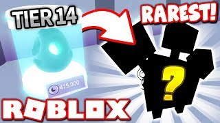 0.01% CHANCE OF GETTING THE RAREST PET in PET SIMULATOR!! (Roblox)