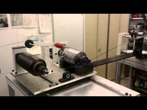 Carbon fibre tension system - Winding technology Ltd