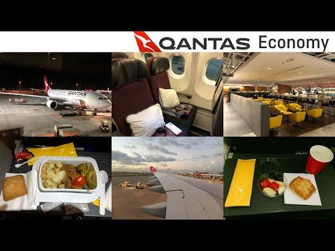 Qantas ECONOMY Class: Singapore to Sydney