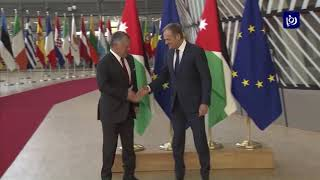 جلالة الملك يجري مباحثات مع رئيس المجلس الأوروبي دونالد تاسك - (12-12-2018)