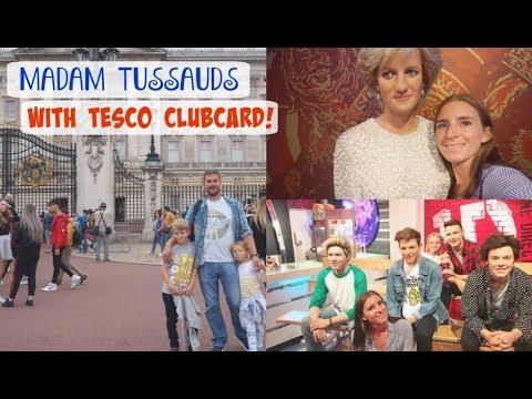 A DAY AT MADAM TUSSAUDS WITH TESCO CLUBCARD! / AD