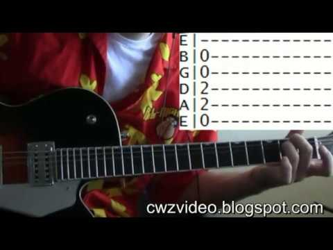 Guitar Lessons Online Love Potion Number 9 The Searchers Tab Youtube