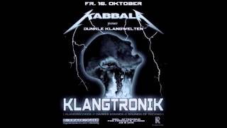 Klangtronik - KABBALA pres. DUNKLE KLANGWELTEN feat. KLANGTRONIK (Die Rakete, Nuremberg, 16.10.2015)