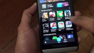 Download lagu Installing Whatsapp on Blackberry OS 10 (Dec 2017)