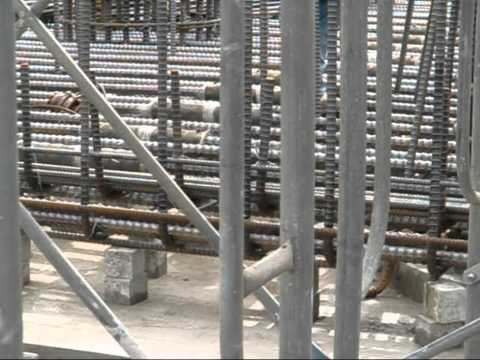 Grout Rebar Coupler Splice for slab beam, easy connecting without rotating Indonesia, Singapore