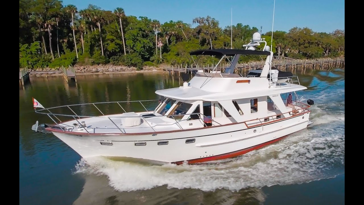 48 Defever Trawler in Daytona Beach, FL - YouTube