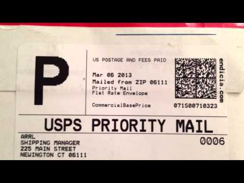 USPS PRIORITY MAIL & FIRST CLASS MAIL SAME...