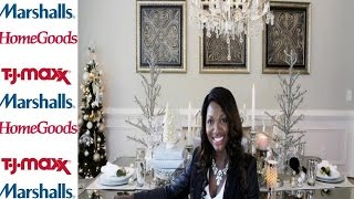 TJ Maxx Holiday Tablescape Challenge 2014 Thumbnail