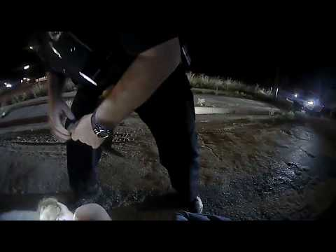 Raw Video (explicit): Arrest of Lampasas man
