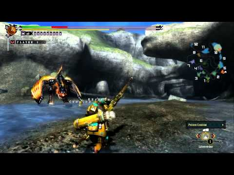 Monster Hunter 3 Ultimate Demo - Plesioth + Bow from YouTube · Duration:  9 minutes 29 seconds
