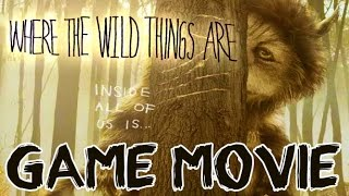 Where The Wild Things Are All Cutscenes | Full Game Movie (PS3, X360, Wii)