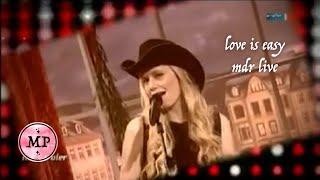 Meg Pfeiffer - Love is easy (Live at MDR)