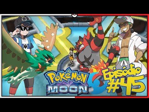 Pok 201 Mon Moon 7 Primeiro Trial Em Busca Do Z Crystal