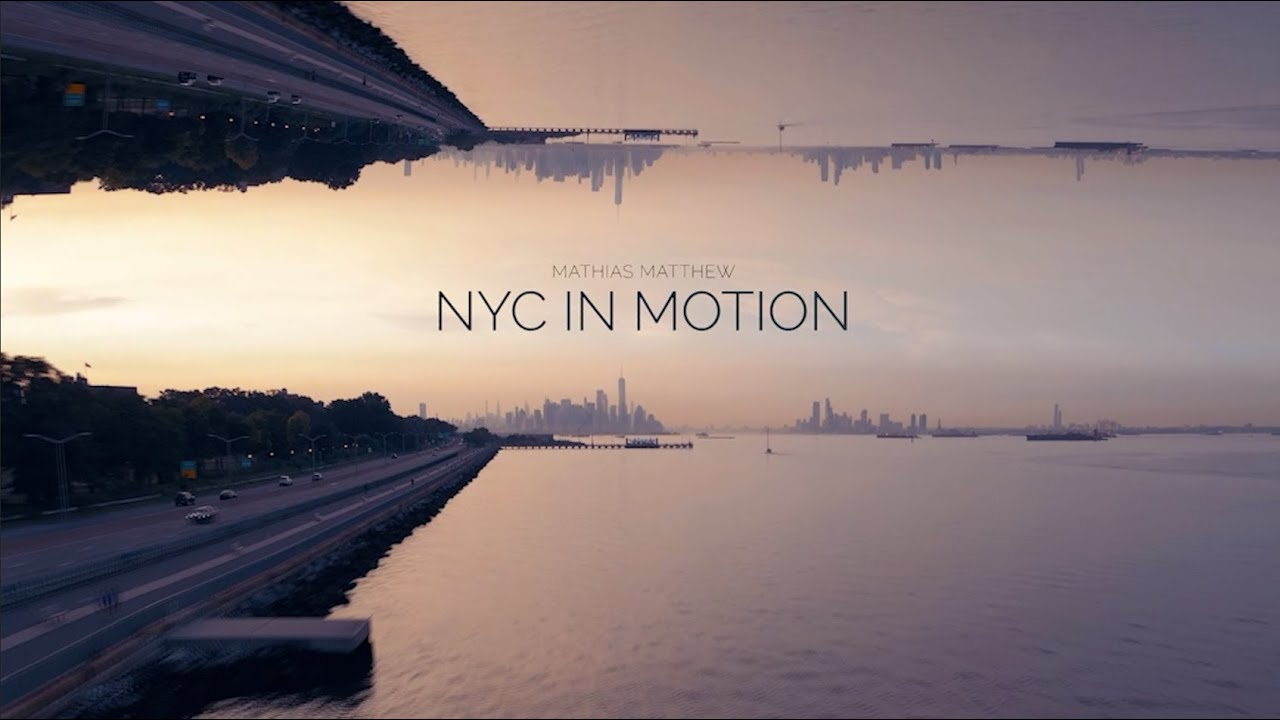 NYC In Motion | 4K Drone & Motion Lapse Footage