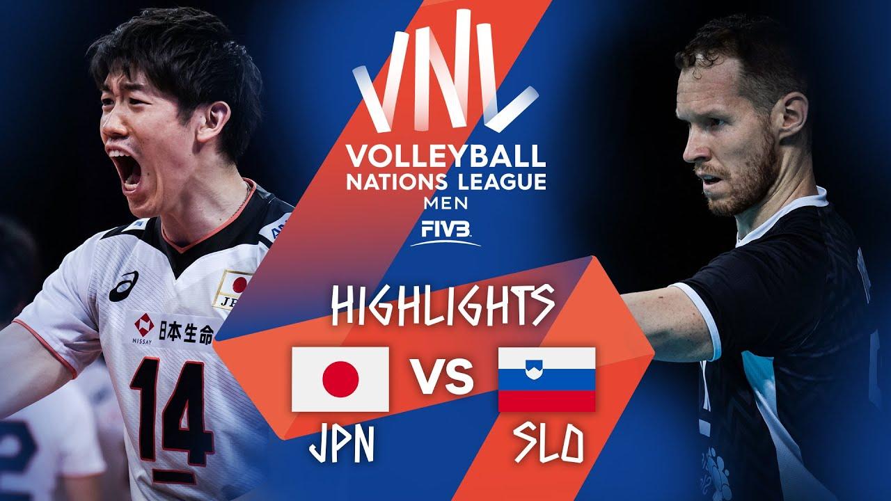 Download JPN vs. SLO - Highlights Week 5   Men's VNL 2021