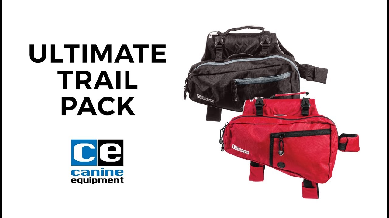 Canine Equipment Ultimate Trail Dog Pack